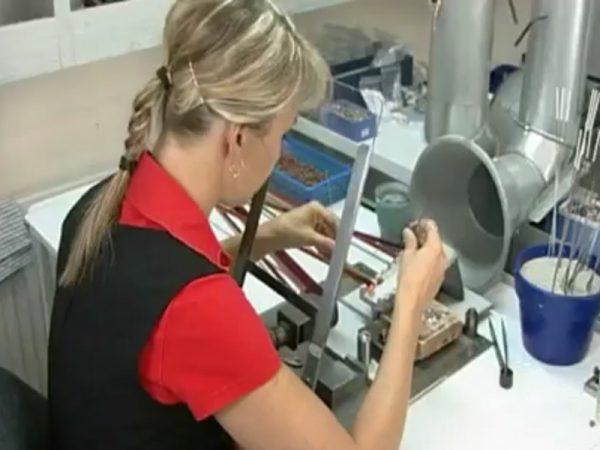 Handgewickelte-Perlen-Herstellung