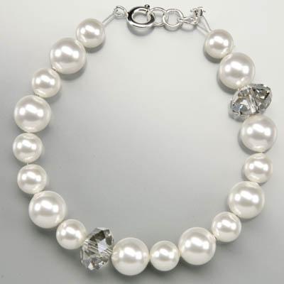 Swarovski Armband Perlen und Rondelle-400x400